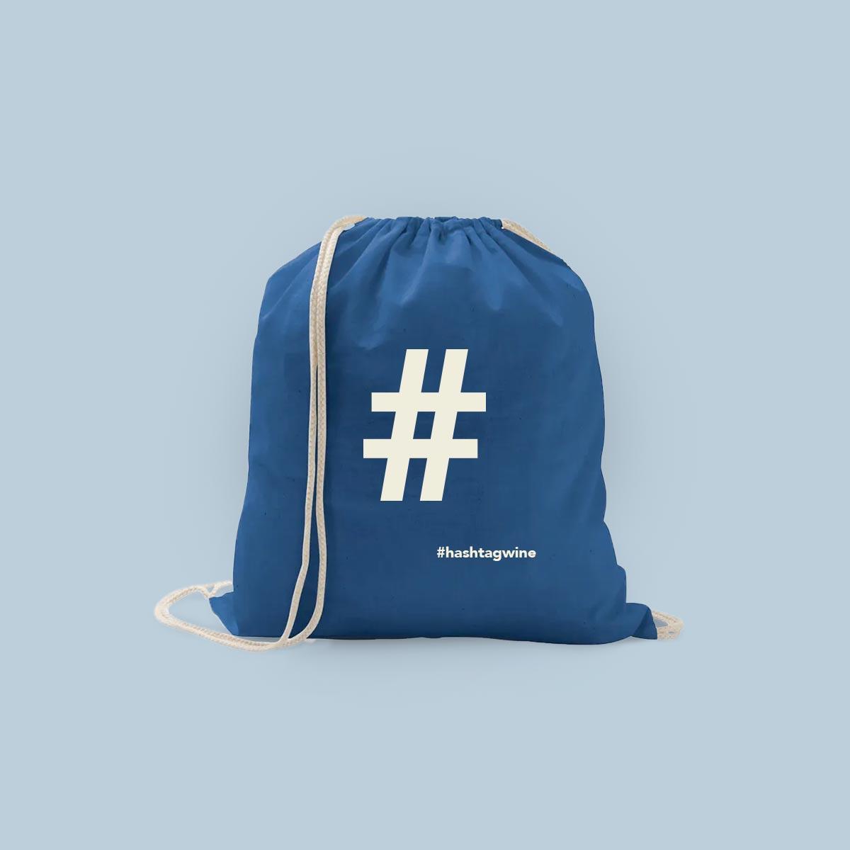 bolsa algodon hashtagwine