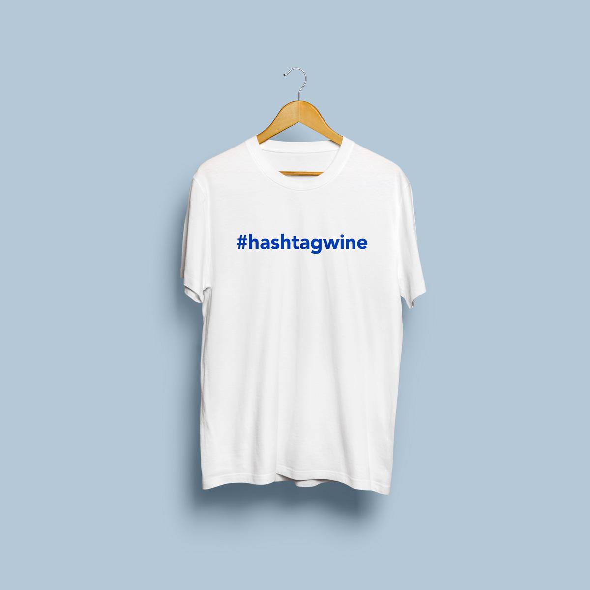 camiseta hashtagwine